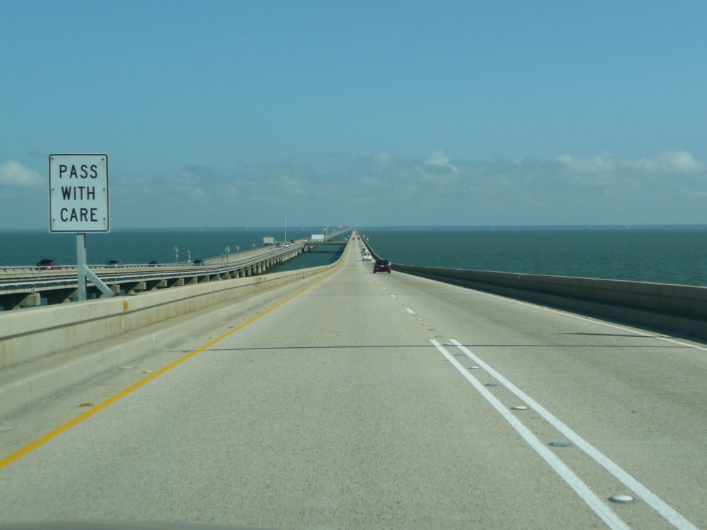 Lake Pontchartrain Causeway - Most Dangerous Roads in the US