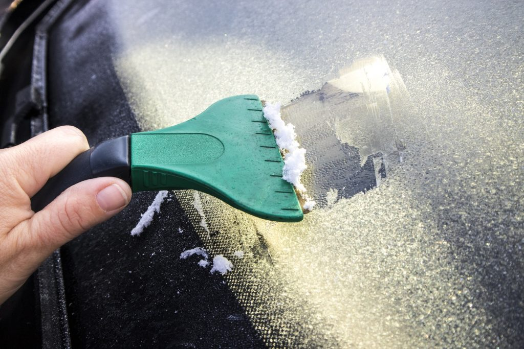 Be prepared for anything when driving in Houston during the Winter.