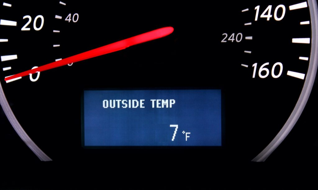Keep a thermometer in your car