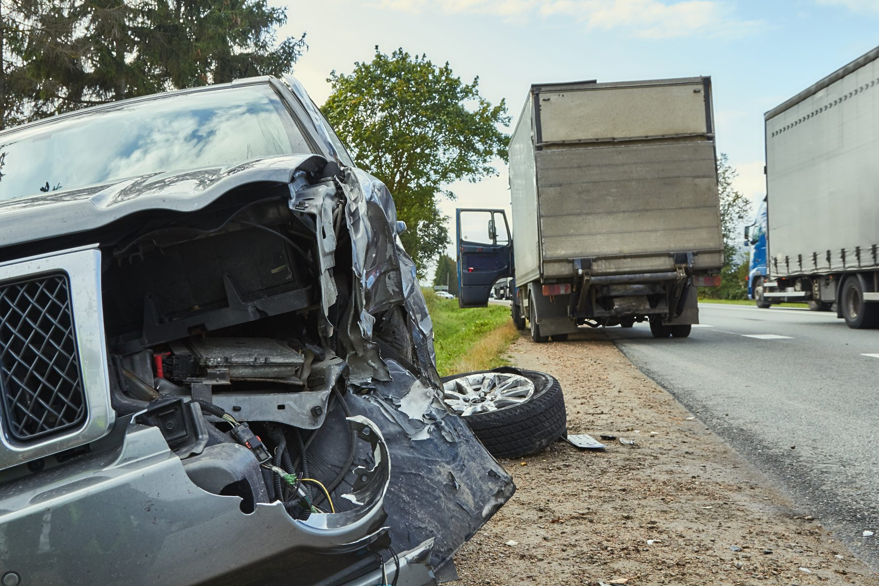 What to do if a Semi-trailer Truck hits you